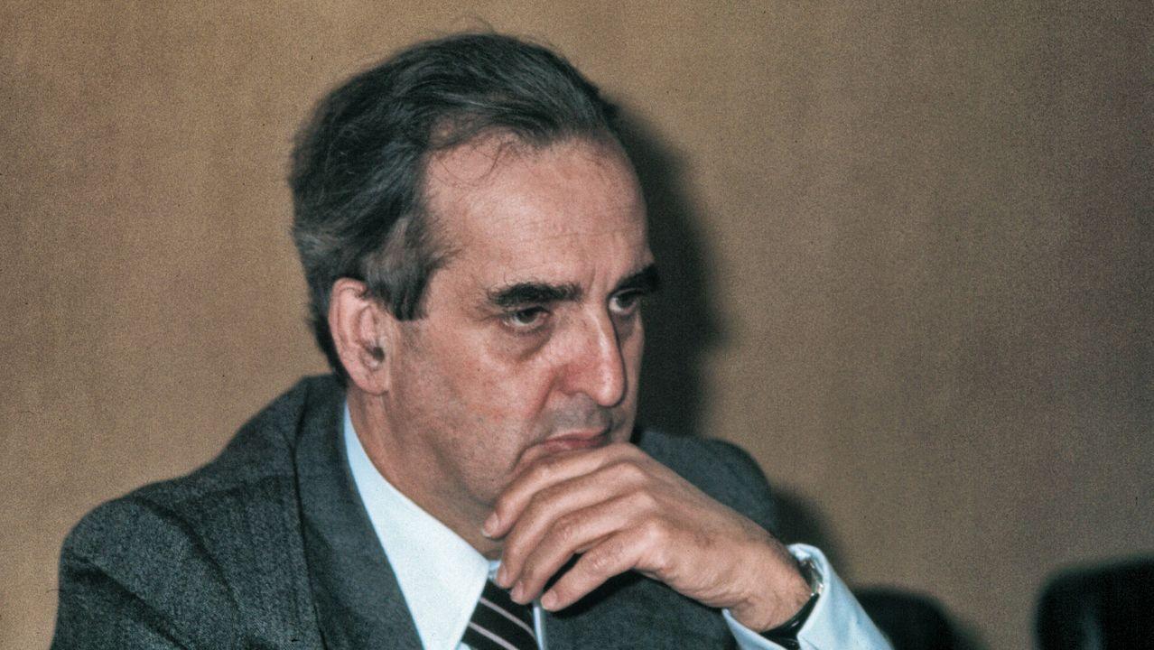 Morán fue ministro de Asuntos Exteriores durante el primer Gobierno de Felipe González