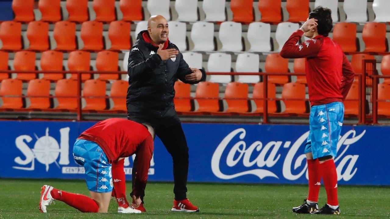 Ismael Navaza, en la recepción que tuvo lugar en el pazo de Raxoi tras proclamarse subcampeón de España y lograr cuatro medallas nacionales