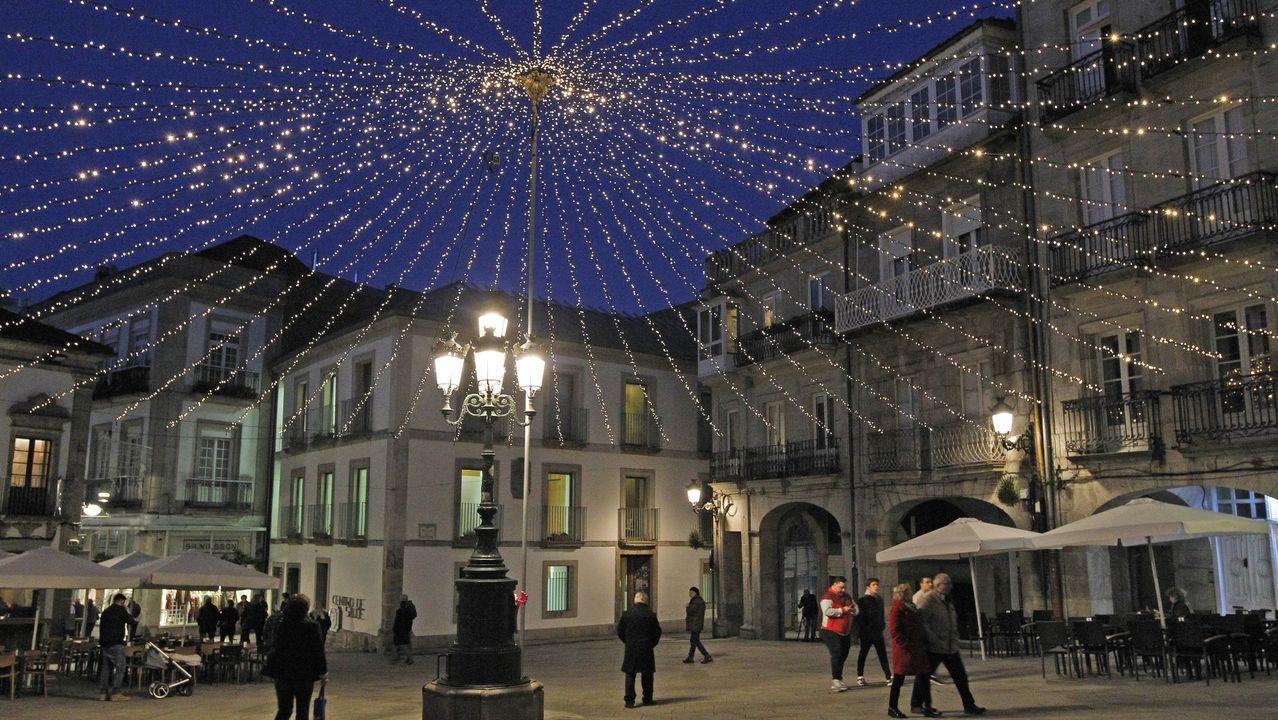 Iluminación navideña en Vigo
