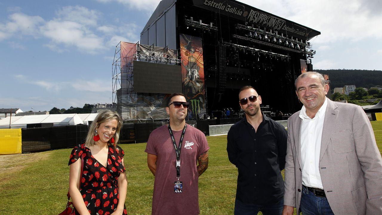 Resurrection Fest 2018 en Viveiro, día dos.Kiss en concierto cerca de Lisboa, el 10 de julio