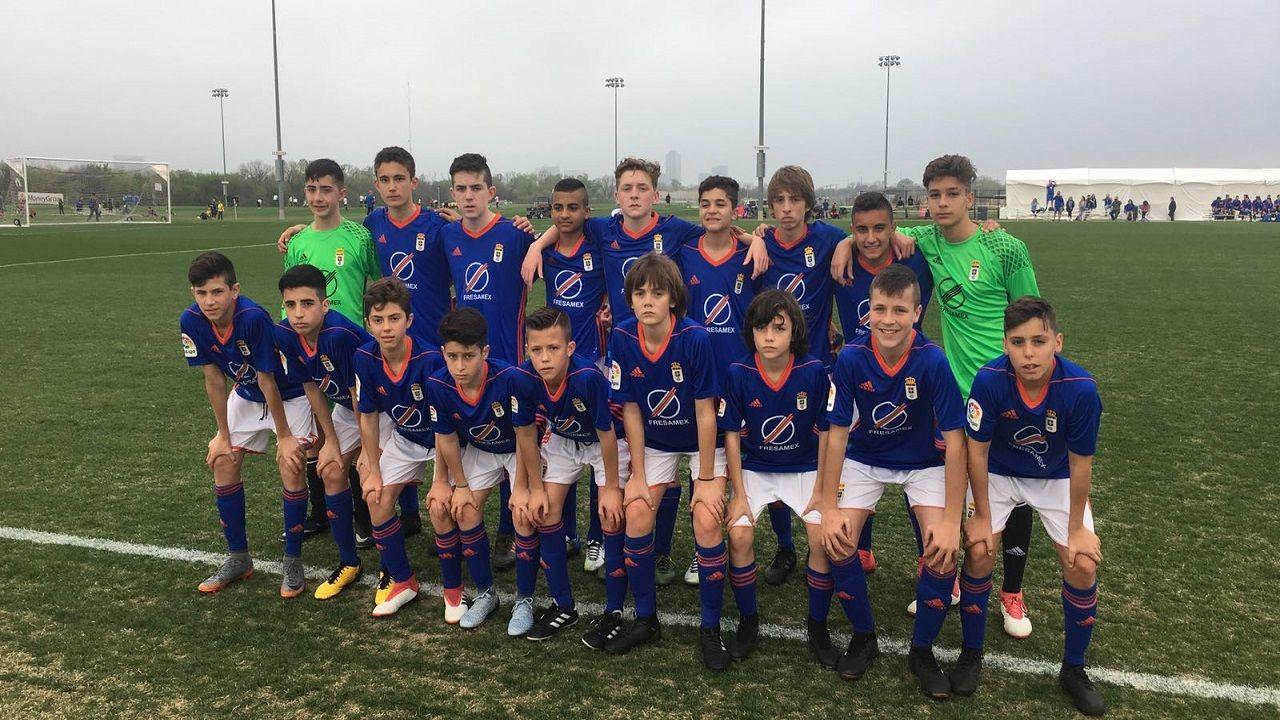 Dallas Cup Infantil Real Oviedo.El Infantil del Real Oviedo, en la Dallas Cup