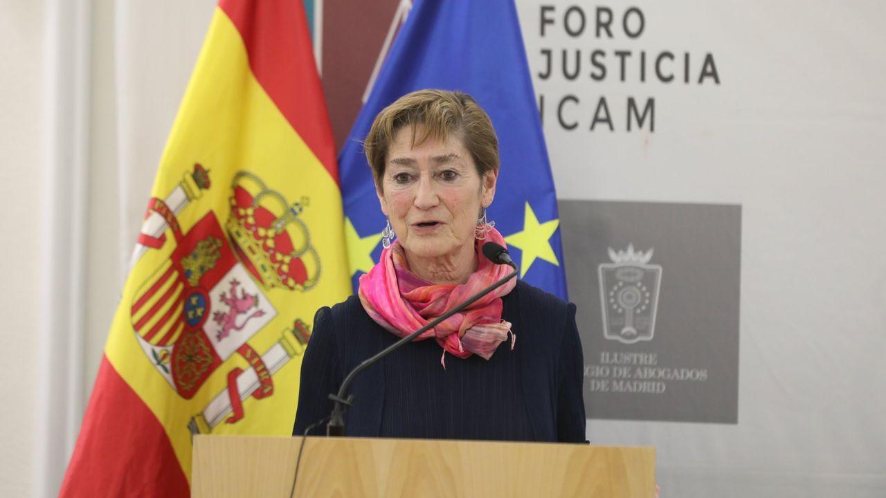 Los trabajadores del Reconquista revientan la rueda de prensa de presentación de Fitur.El ministro de Justicia, Juan Carlos Campo, en una foto de archivo