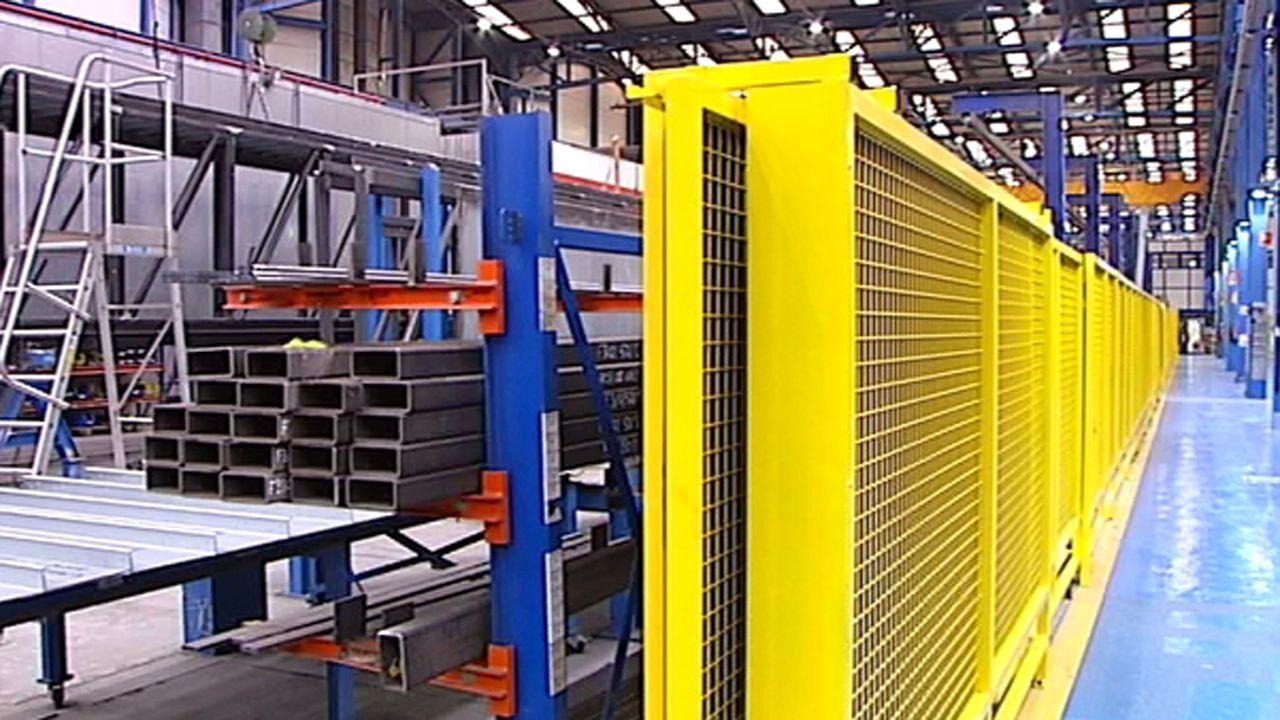 La fábrica de Thyssenkrupp Airport en Mieres