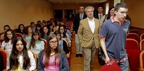 César Antonio Molina ofreció la primera conferencia del coloquio organizado por la UIMP.