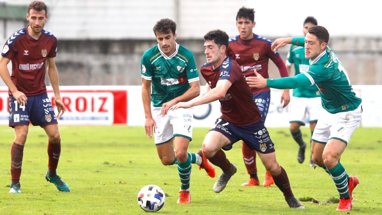 La trayectoria de Fernando Rey Tapias en imágenes.Jesús Ramos, entrenador del Pontevedra CF