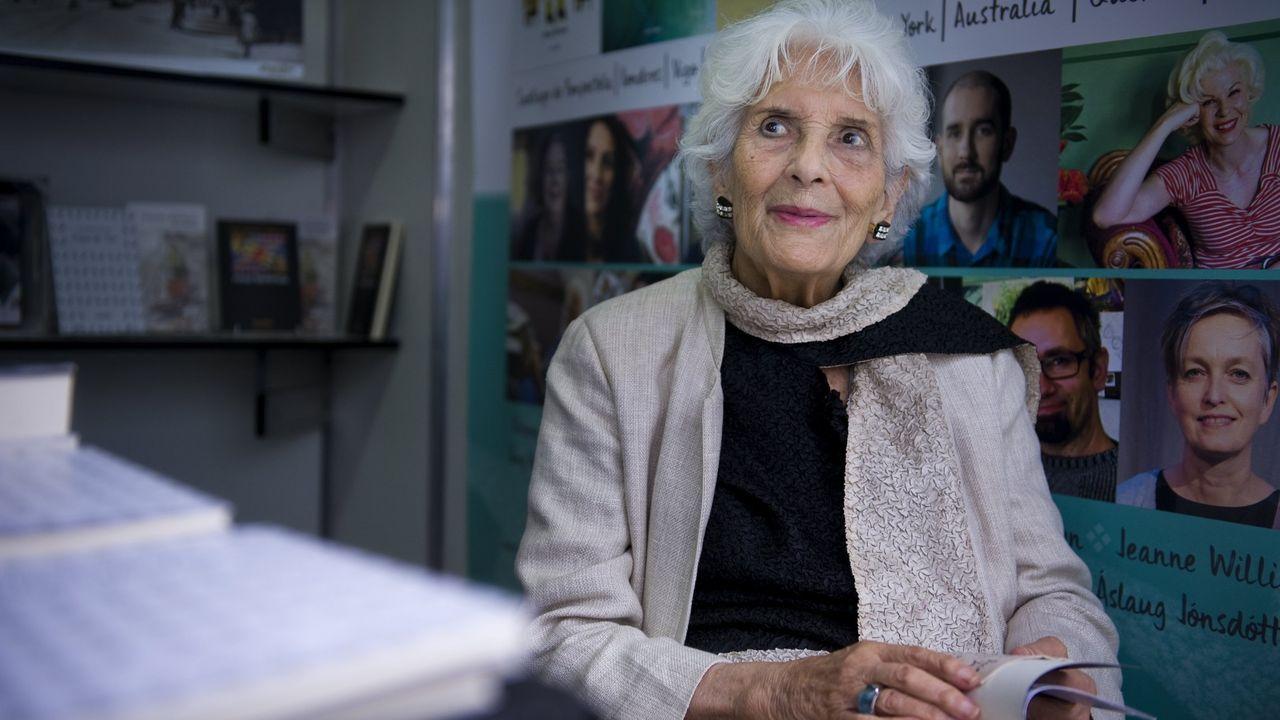 Luz Pozo Garza, o verán do 2019 na feria do libro da Coruña