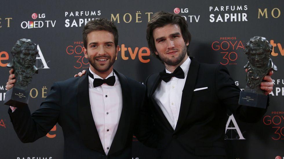 Pablo Alborán y Lucas Vidal, Goya a la Mejor Música Original