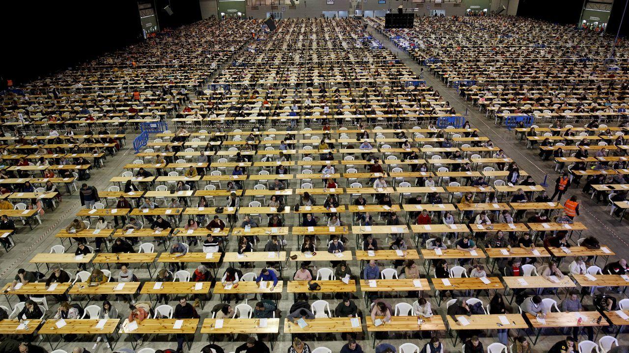 «La eficiencia de estos eólicos es superior a la de anteriores generaciones».El recinto ferial de Silleda durante las oposiciones a celador del SERGAS celebradas el pasado domingo