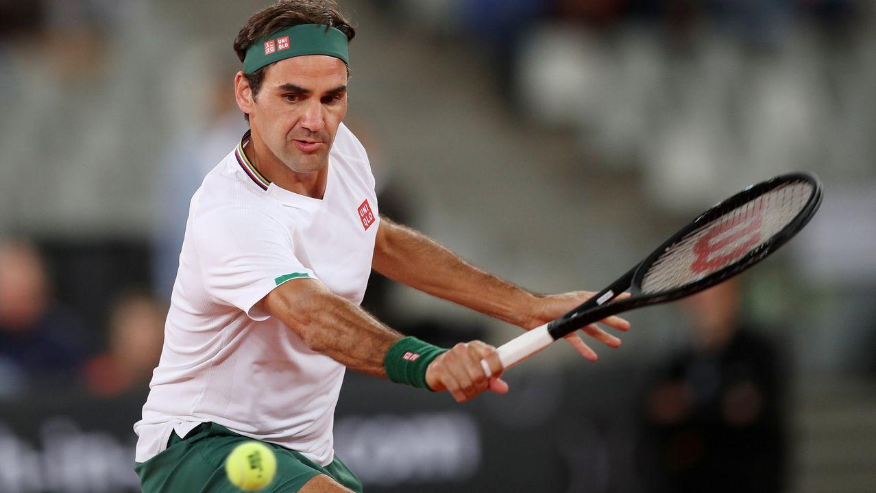 «Si uno tiene 30 Grand Slam, pero ningún amigo, va a tener un futuro infeliz».Pelayo Díaz en una de sus fotografías en Instagram