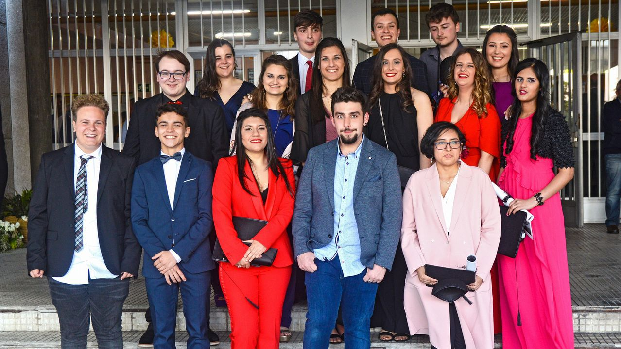 Graduación de los alumnos de A Sardiñeira