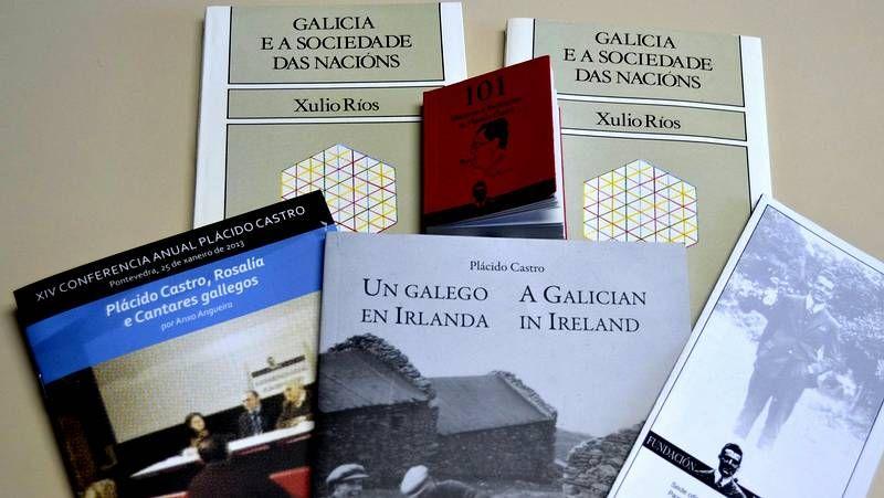 Obras sobre Plácido Castro del Río.