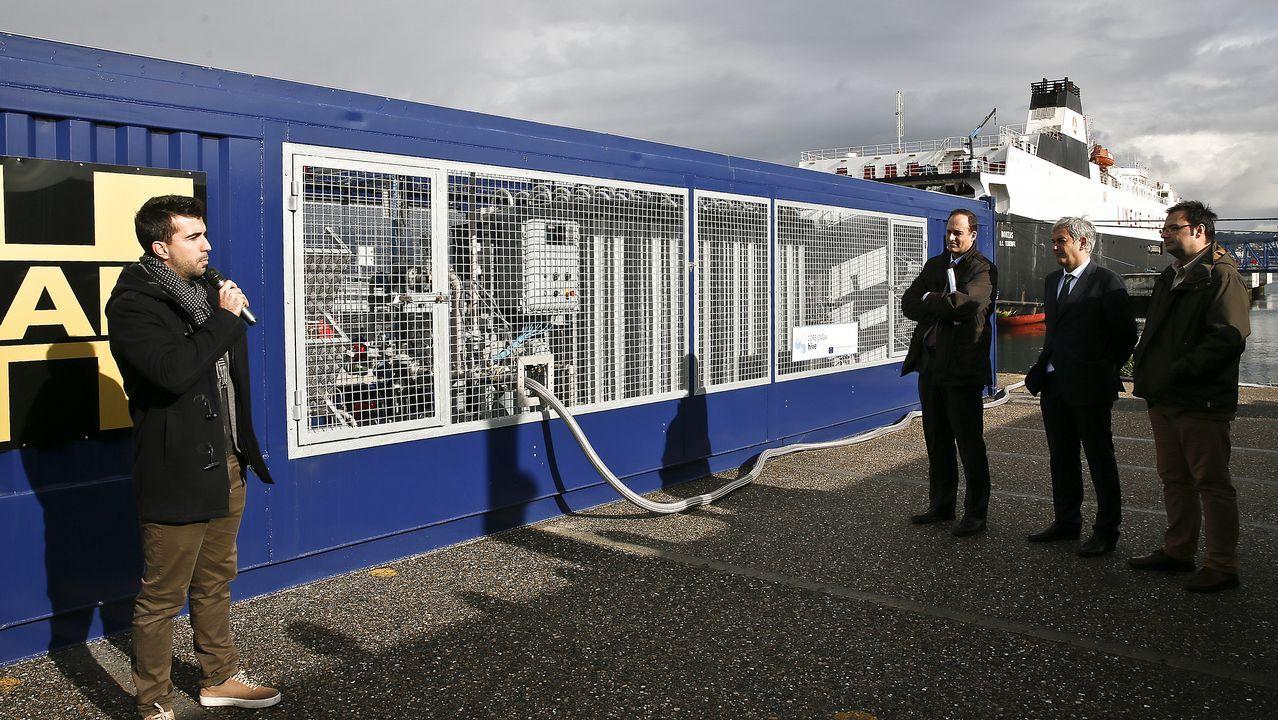 «El gas renovable puede ser la energía de transición perfecta mientras el futuro eléctrico no sea sostenible».Logo de Duro Felguera en la bolsa
