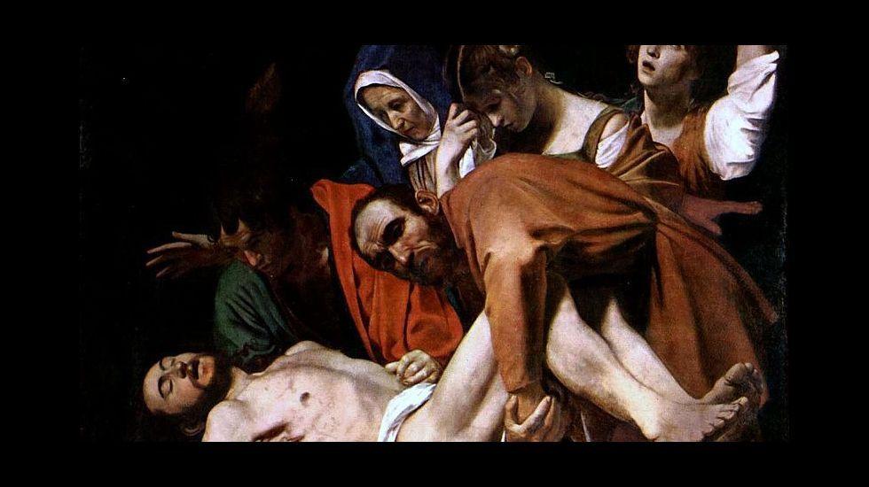 «Santo entierro», de Caravaggio (1602-1604). Museos Vaticanos