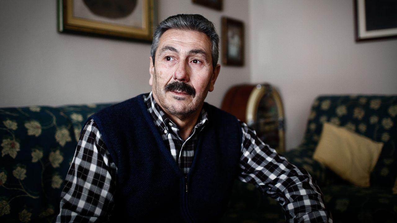 Manuel Carlos Pereira, hermano de un ourensano fallecido en soledad a finales del 2019