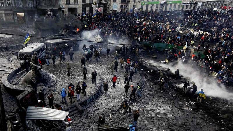 La violencia sigue dominando en Kiev
