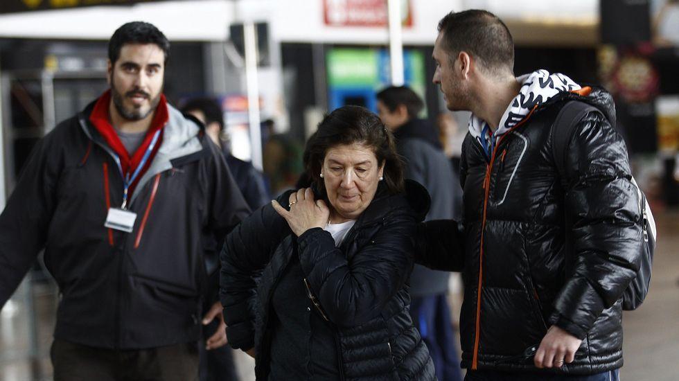 Familiars de los pasajeros de Germanwings