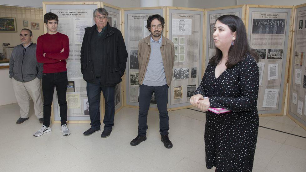 «80 anos. Santiago 1936»: así es la exposición en el CPI Cabo da Area