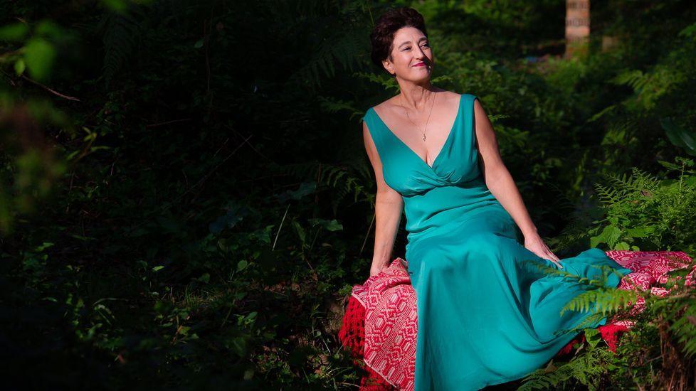 A romaría Raigame celebrouse en pequeno formato.Carmen Penim dará un concerto no Museo Provincial de Lugo