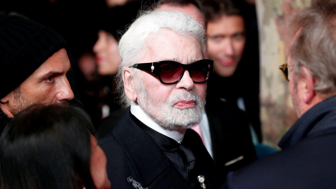 Karl Lagerfeld, en una imagen de archivo