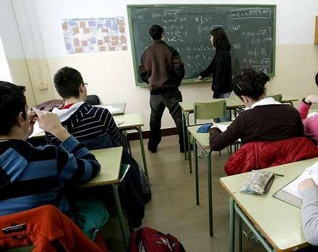 Imagen de archivo de un instituto público en Lugo.