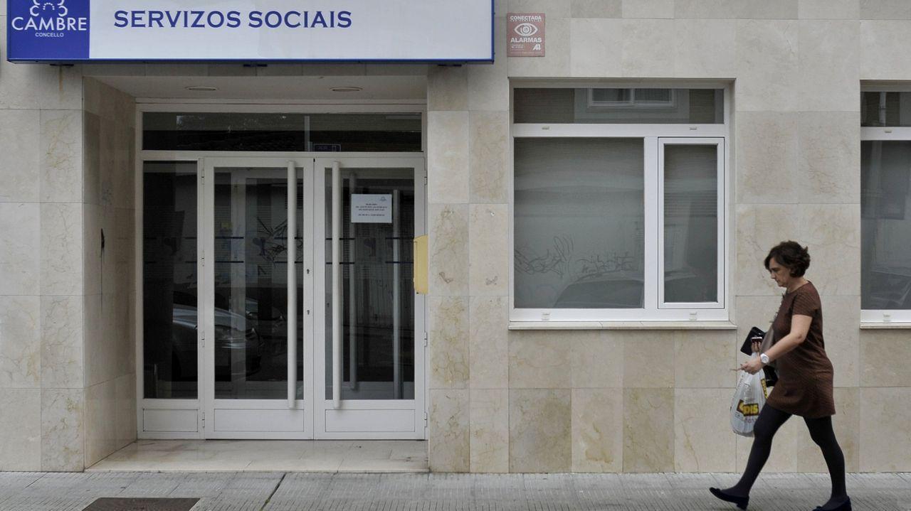 La comunidad musulmana de la provincia de Lugo se une en el Pazo de Feiras e Congresos para el rezo del último día de Ramadán.Imagen de archivo de las dependencias de Servicios Sociales de Cambre