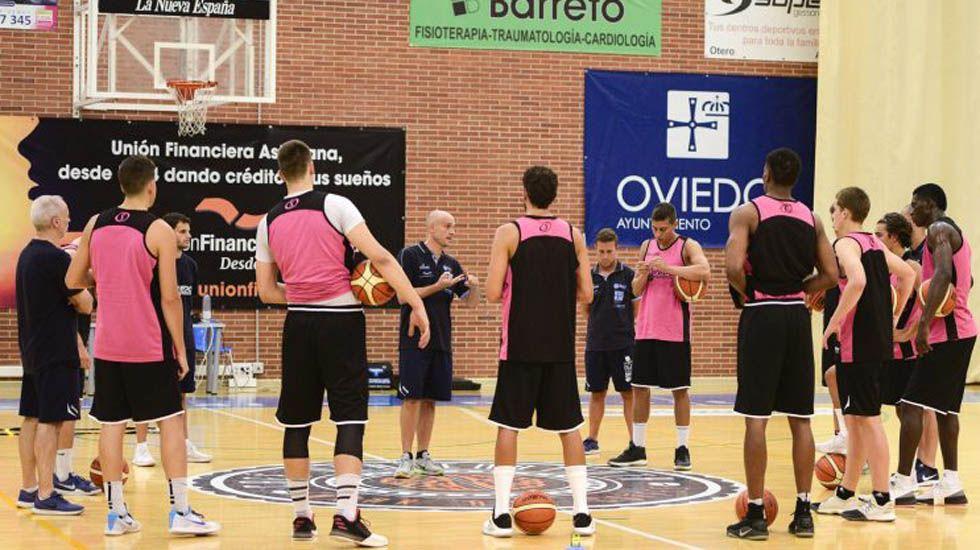 El Oviedo Basket arranca la pretemporada.