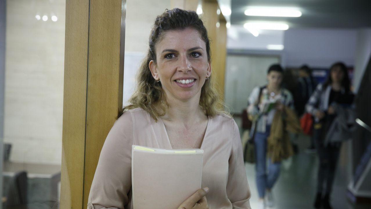 Malamente de Rosalía.Carla Sofia Amado es la responsable del  Instituto Camões en Galicia y profesora de la USC