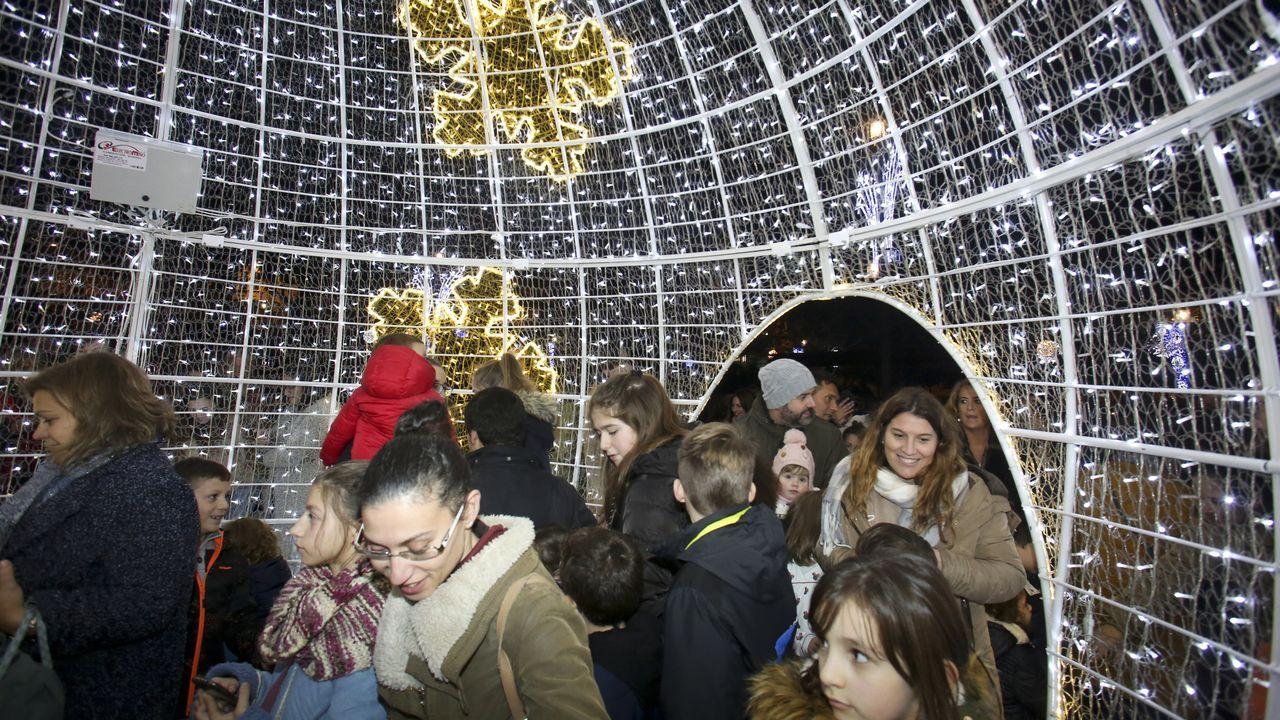 Ferrol se ilumina de Navidad
