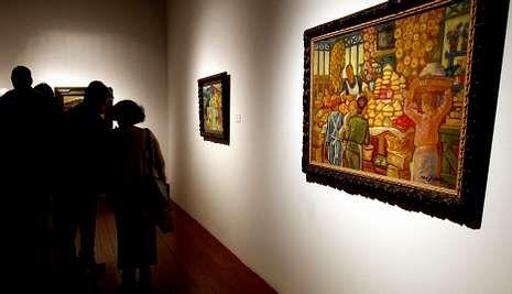La muestra está en la Fundación Novacaixagalicia, a la espera de una posible sede permanente.