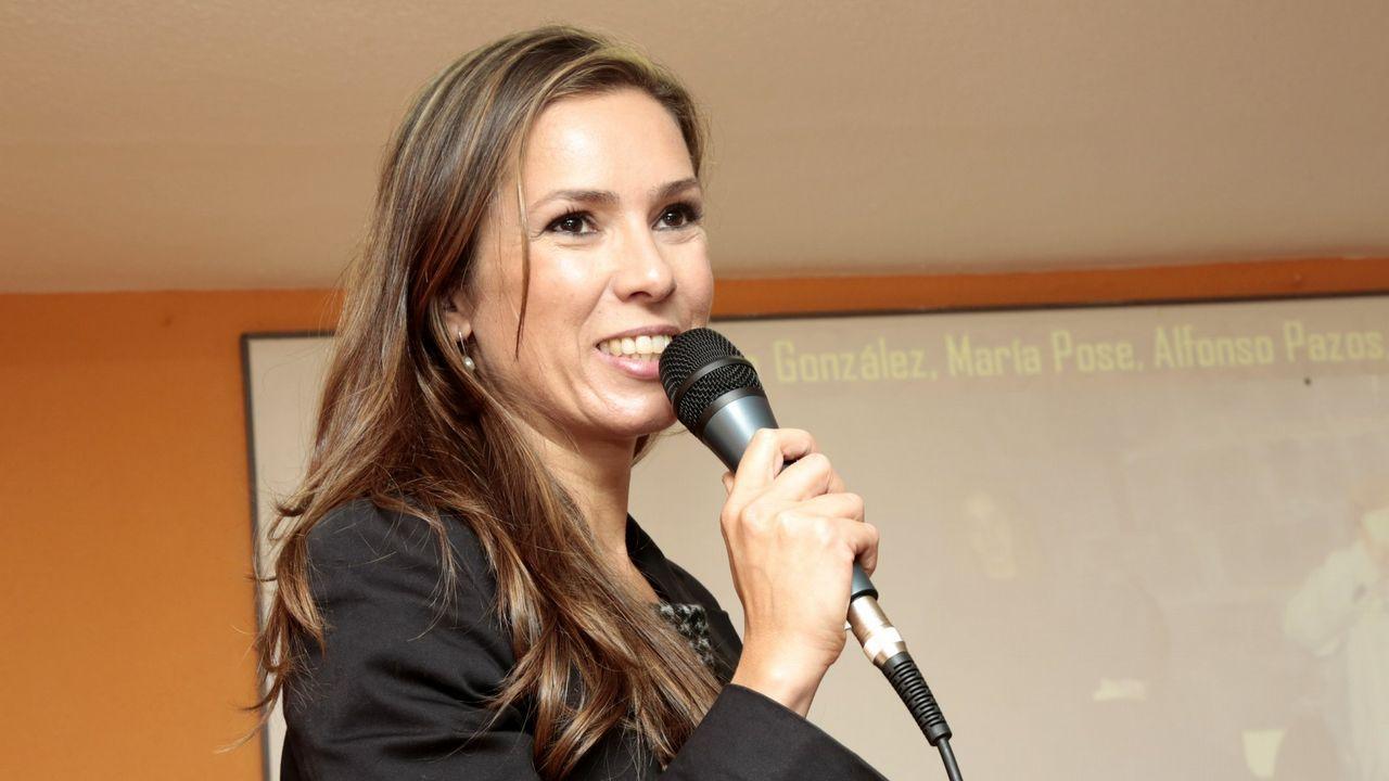 Joan Mesquida en el acto de la plataforma España Ciudadana el pasado 8 de julio