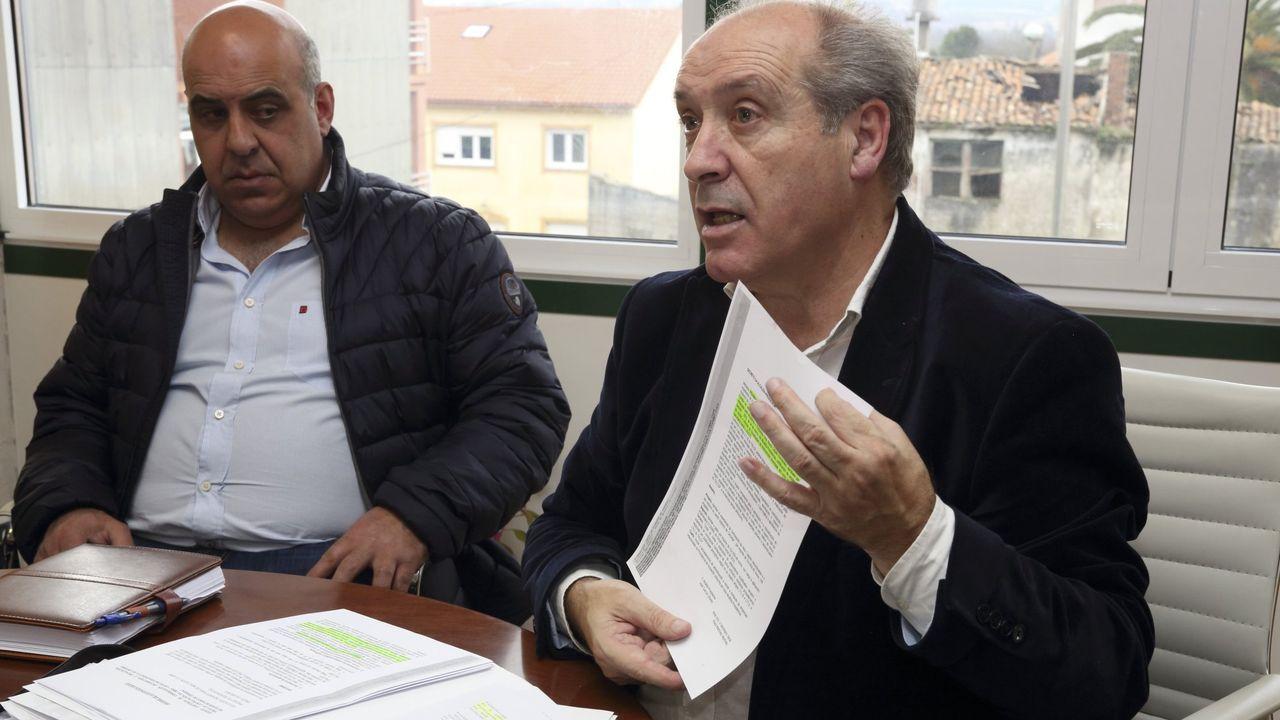 La situación procesal del alcalde de Cerceda quedó sin debatir.Pleno de la constitución del Parlamento de Galicia en la presente legistatura