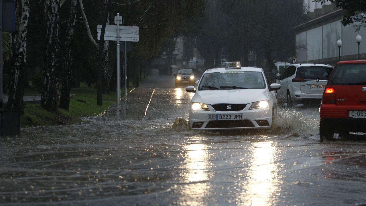 Inundaciones en Ferrol