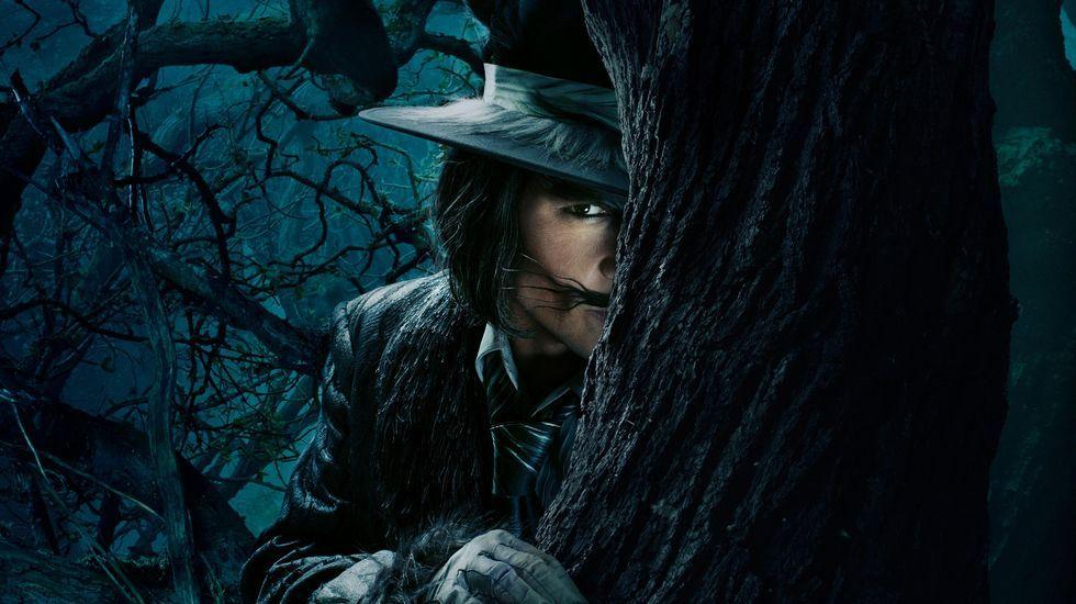 Johnny Deep en «Into the Woods»