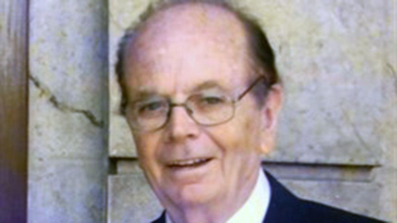El rector de la Universidad de Oviedo, Santiago García Granda.Bonifacio Fernández Vilalta