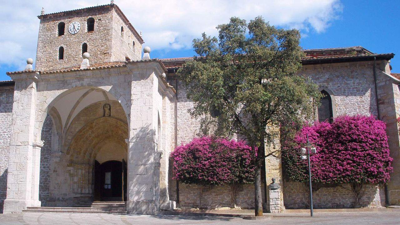 La Basílica de Santa María del Concejo en Llanes