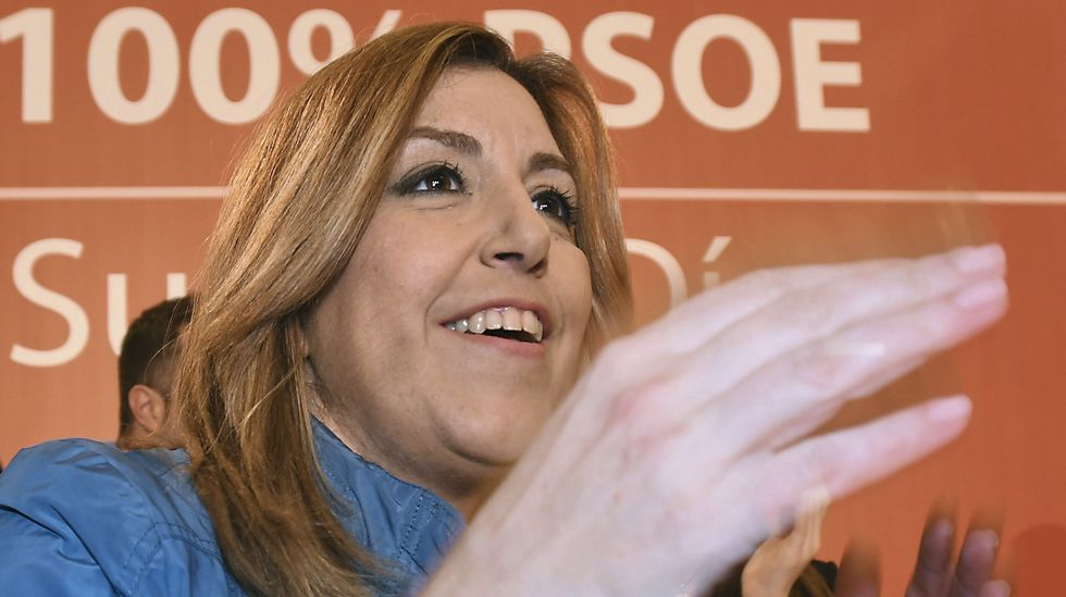 Díaz a Sánchez: «Respeto a quien queda segundo tres veces y se alegra, pero a mí me gusta ganar».Iván Castro, Inés Rey y Agustín Fernández