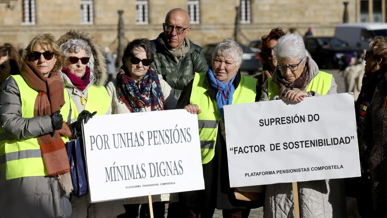Asturias también estuvo en la movilización por el clima en Madrid.Riopedre sale de la Audiencia Provincial, en Oviedo