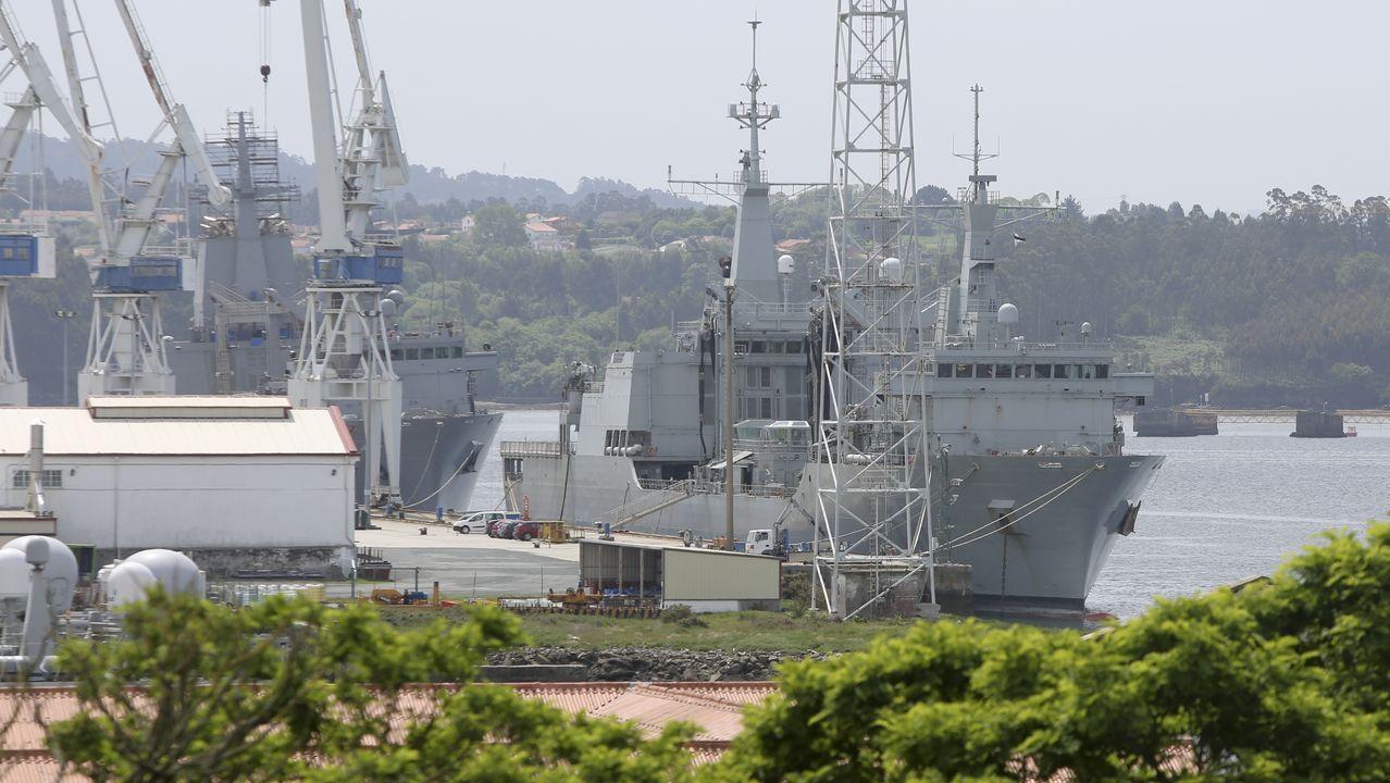 Navantia fabrica en Ferrol dos barcos para la Armada de Australia