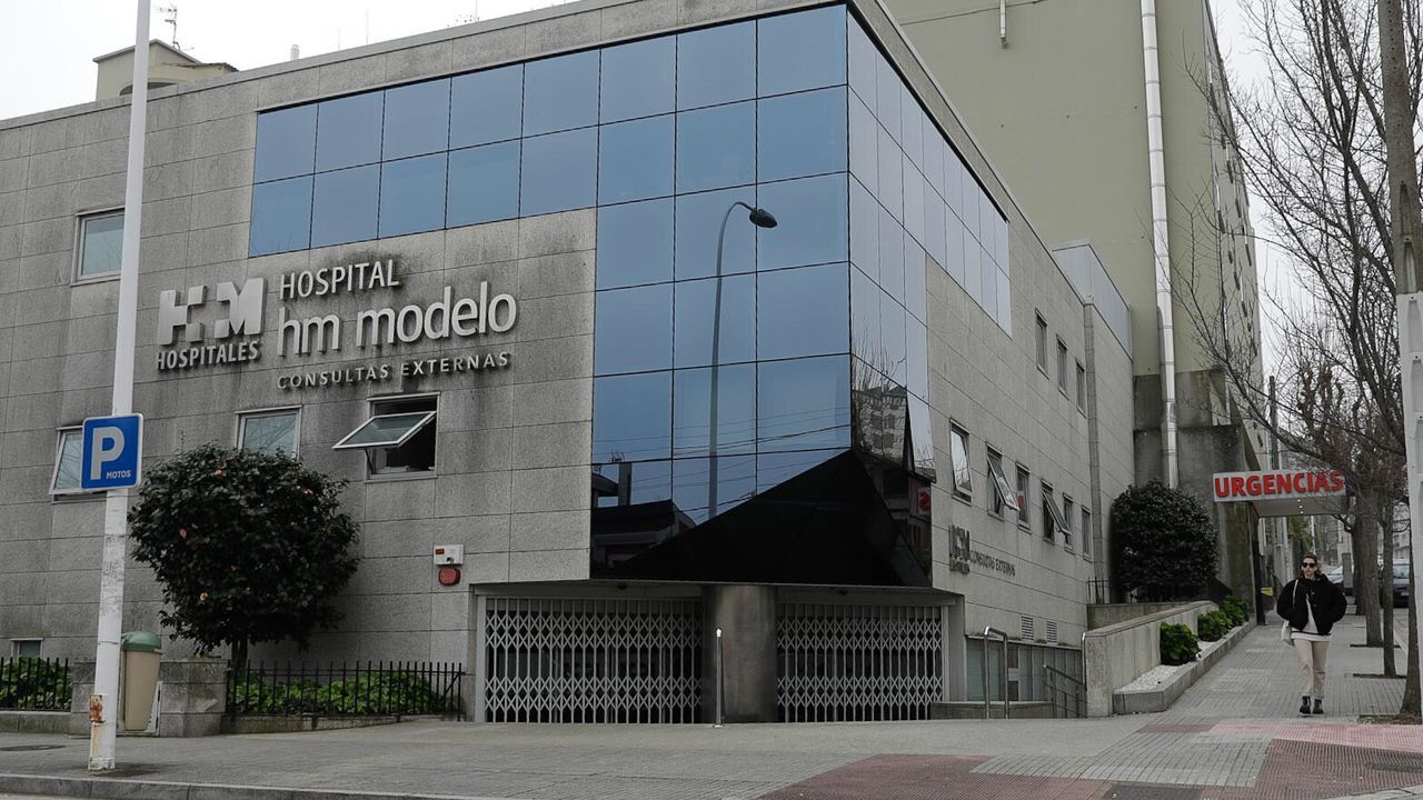 Edificio del hospital HM Modelo de A Coruña
