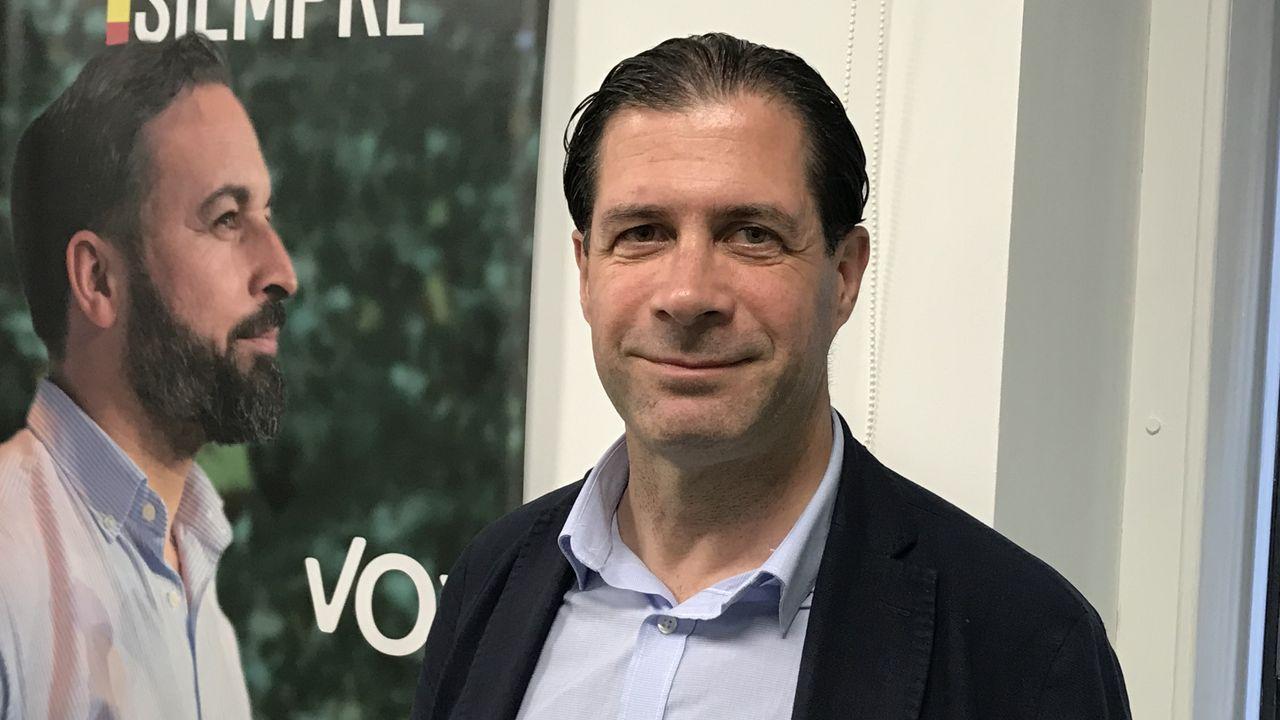El concejal de Vox Pedro Fernández también es diputado nacional y vicesecretario jurídico del partido