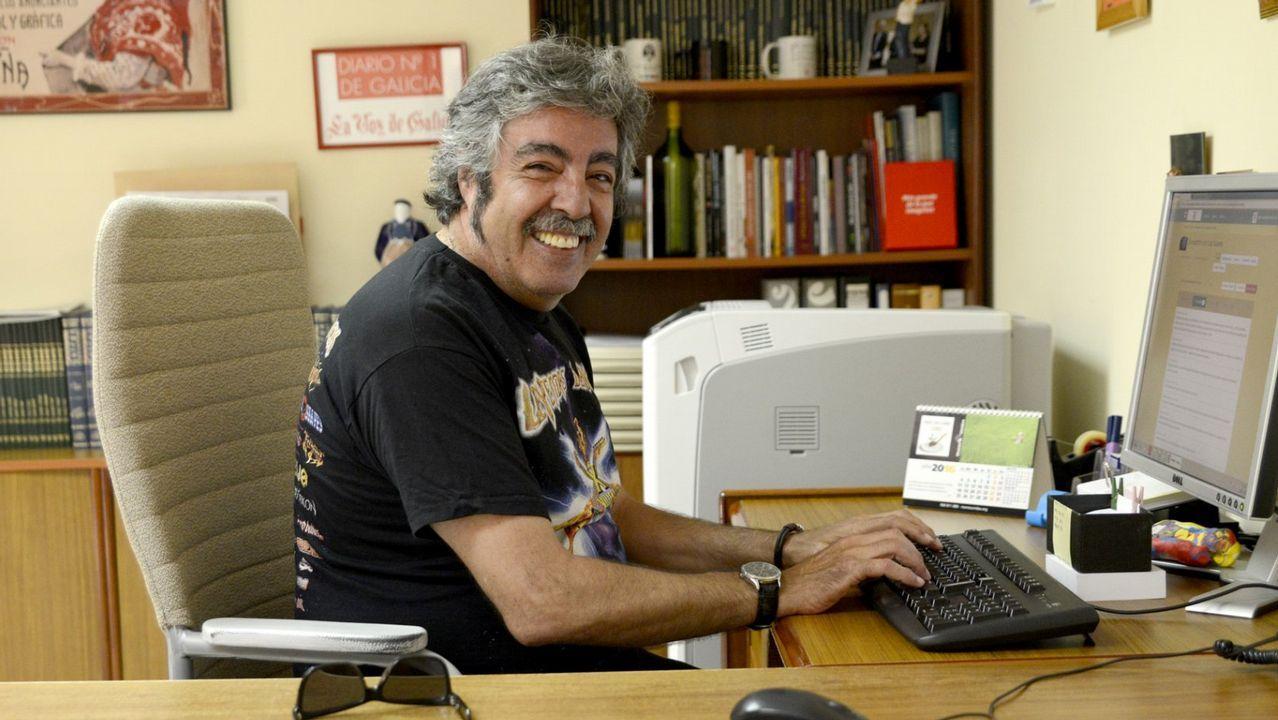 Yosi presenta la Feira do Libro de Ourense