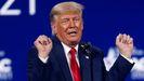 Donald Trump, en un mitin en Florida