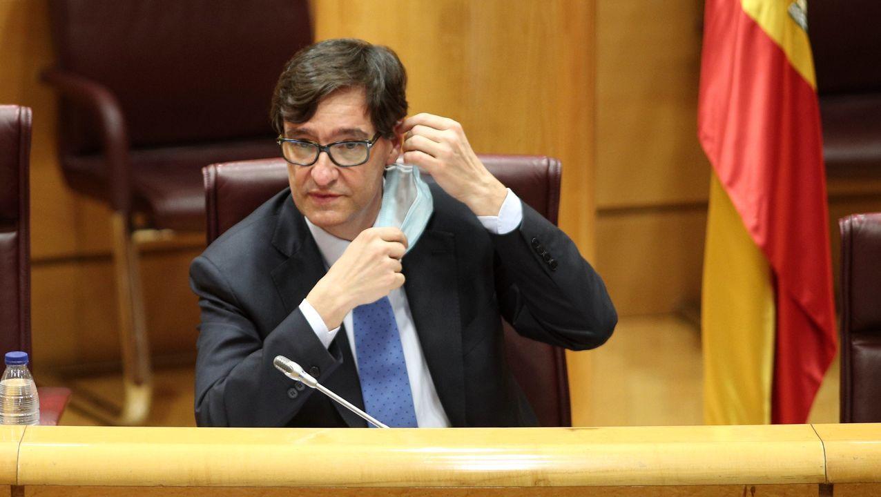 Salvador Illarecomienda cerrar la ciudad de Madrid.Salvador Illa, en la Comisión de Sanidad y Consumo