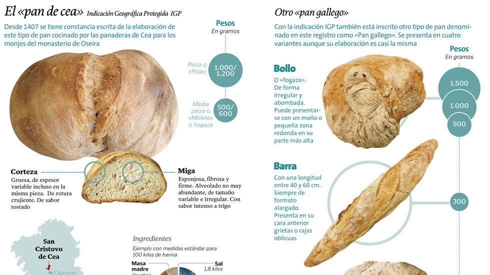 El pan de Cea y otros panes gallegos