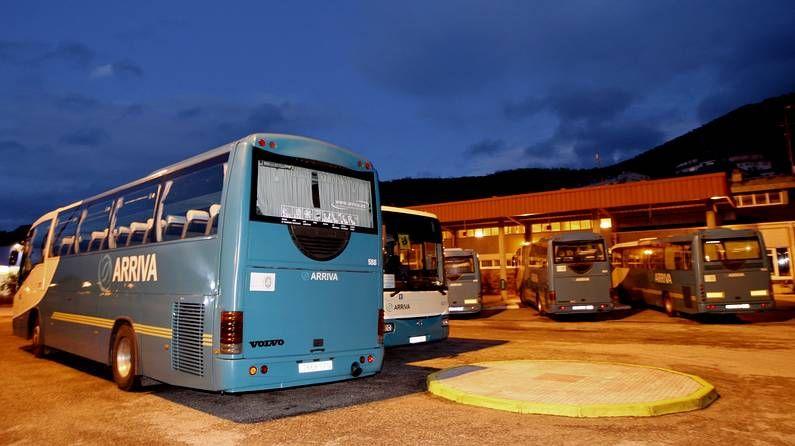 Autobuses de Arriva en Viveiro