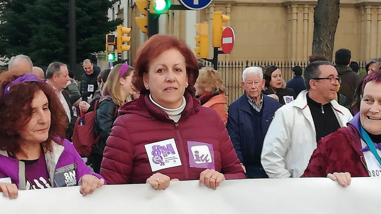 La secretaria de Política Municipal de IU, Gabriela Álvarez