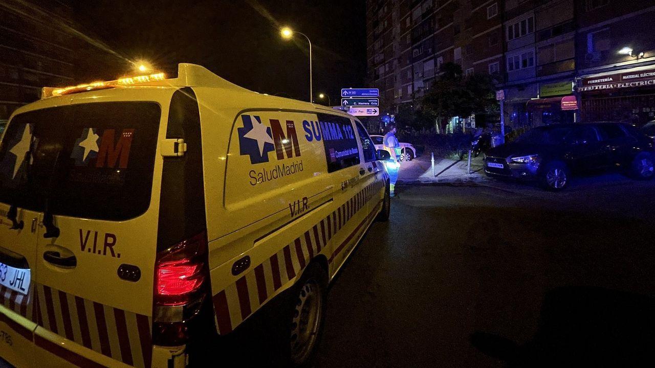 Ambulancia del 112 de Madrid, en una imagen de archivo