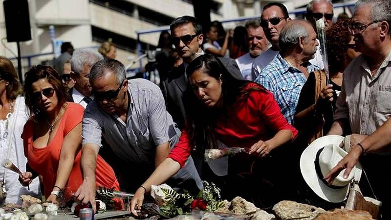Homenajes a las víctimas del accidente de Spanair