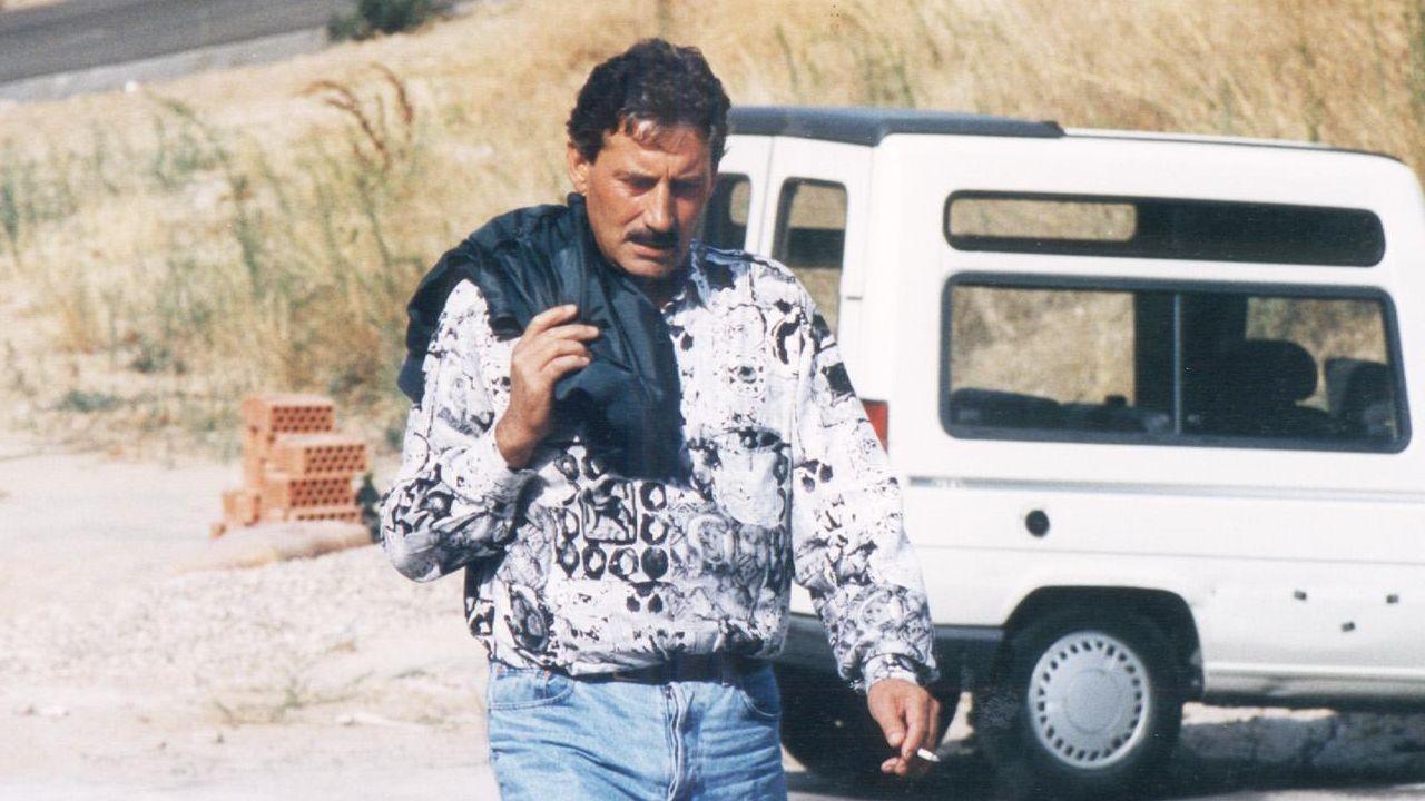 Luciano Núñez Villanueva, en los años noventa en Madrid, llegando a una vista judicial de la operación Nécora.