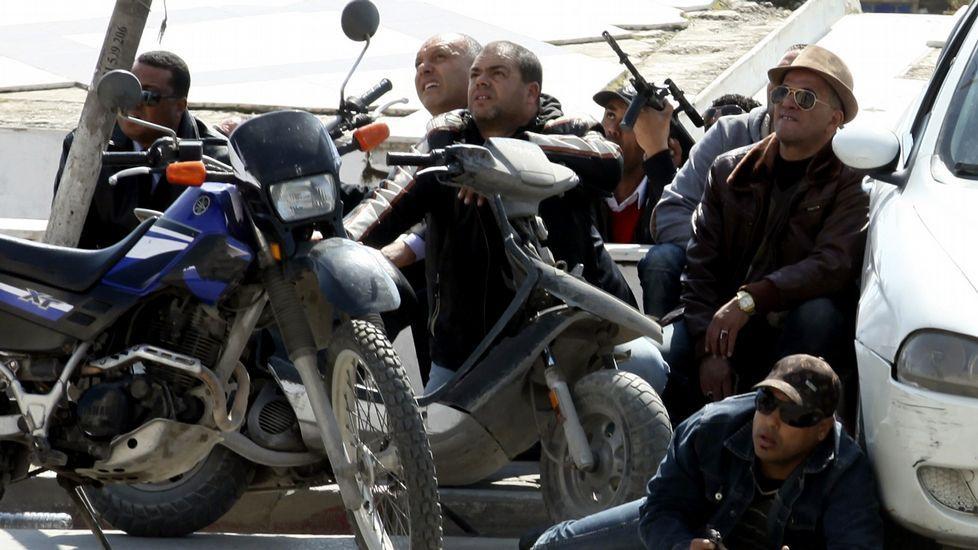 El matrimonio valenciano permaneció escondido durante el ataque terrorista